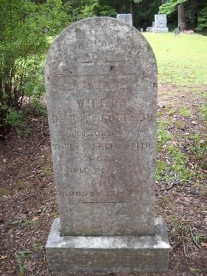 Grave of Janie Smith image. Click for full size.