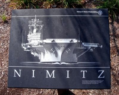 Nimitz Marker image. Click for full size.