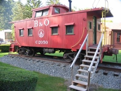 Caboose Photo, Click for full size