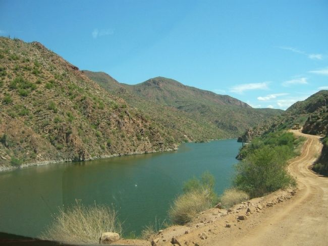 The Apache Trail Historic Road image. Click for full size.
