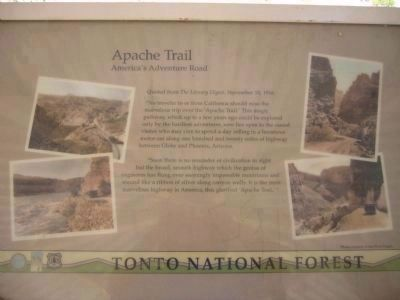 Apache Trail - America's Adventure Road image. Click for full size.