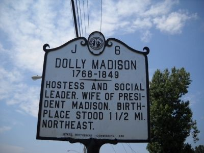 Dolly Madison Marker image. Click for full size.