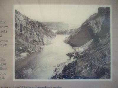 Salt River Before the Dam image. Click for full size.