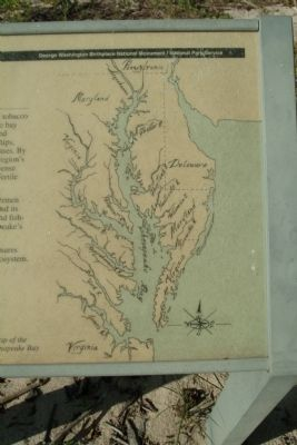 A Map of the Chesapeake Bay image. Click for full size.