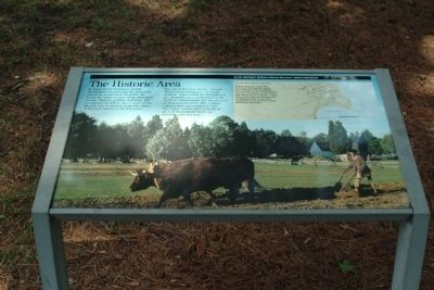The Historic Area Marker image. Click for full size.