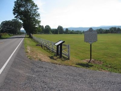 Markers at the Buck Birthplace Site Photo, Click for full size