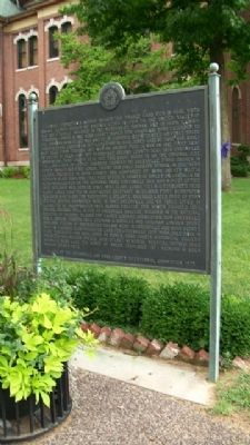 History of Greenville-Bond County Marker image. Click for full size.