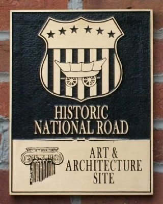 Historic National Road Marker image. Click for full size.