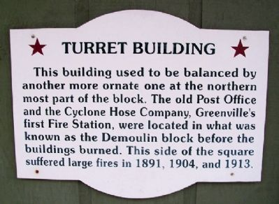 Turret Building Marker image. Click for full size.