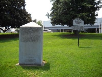 Marker in Greensboro image. Click for full size.
