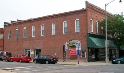 Weise & Bradford Store and Marker image. Click for full size.