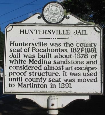 Huntersville Jail Side image. Click for full size.