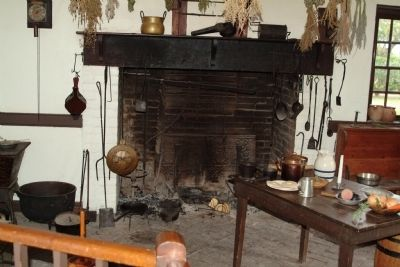 Interior of Colonial Kitchen image. Click for full size.