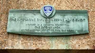 Outstanding Civil Engineering Achievement Marker Photo, Click for full size