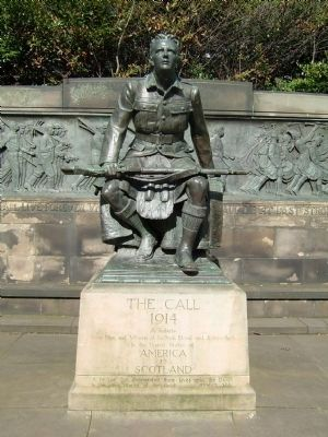 Scottish-American War Memorial Statue image. Click for full size.