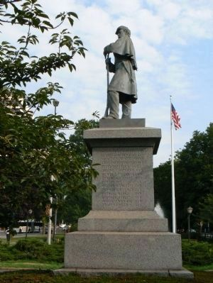 White Plains Soldiers' Memorial image. Click for full size.