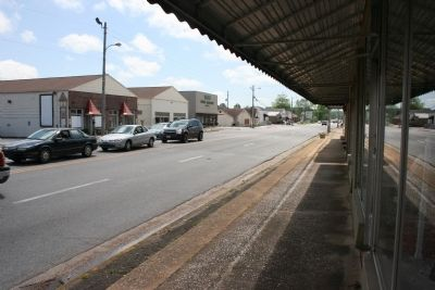 Main Street (Highway 11) Downtown Trussville, Alabama. image. Click for full size.