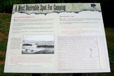 A Most Desirable Spot For Camping Marker image. Click for full size.