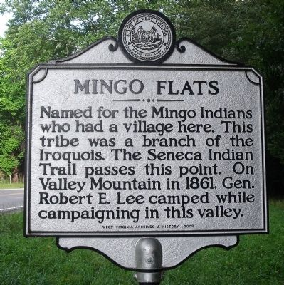 Mingo Flats Marker Photo, Click for full size