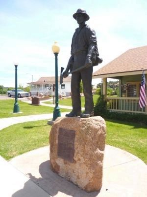 Mogollon Rim Country Firefighters Memorial image. Click for full size.