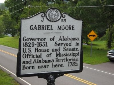 Gabriel Moore Marker image. Click for full size.