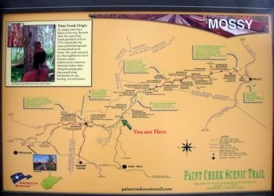 Paint Creek Scenic Trail Map Photo, Click for full size