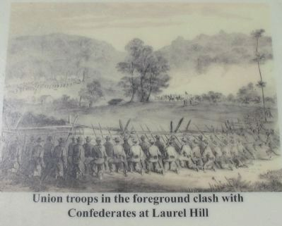 Skirmishing at Laurel Hill image. Click for full size.