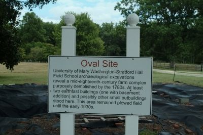 Oval Site Marker image. Click for full size.