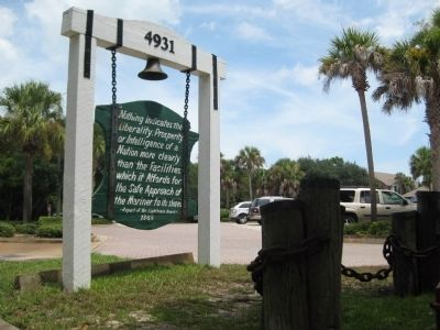 Ponce de Leon Inlet Lighthouse Sign image. Click for full size.
