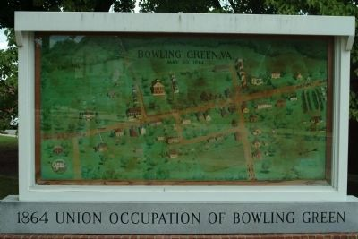 1864 Union Occupation of Bowling Green image. Click for full size.