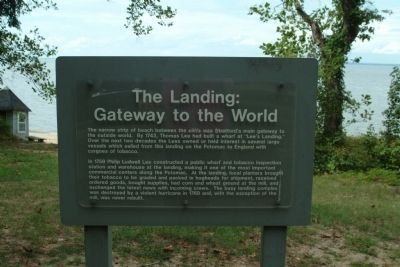 The Landing: Gateway to the World Marker image. Click for full size.