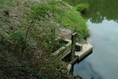 The Sluice Gate in the Mill Pond image. Click for full size.