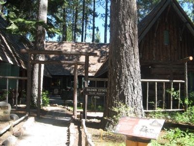 Rear of the Baldwin House & Tallac Museum Photo, Click for full size