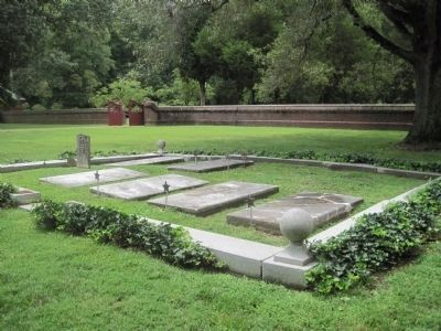 The Kelley Plot at Christ Church Lancaster Photo, Click for full size