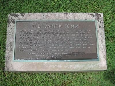 The Carter Tombs Photo, Click for full size