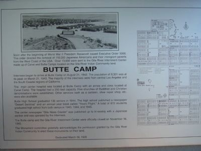Butte Camp Marker image. Click for full size.