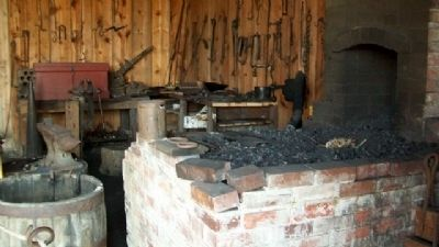 Mahaffie Blacksmith Shop Photo, Click for full size