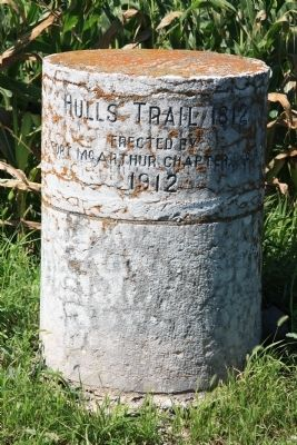 Hull's Trail 1812 Marker image. Click for full size.
