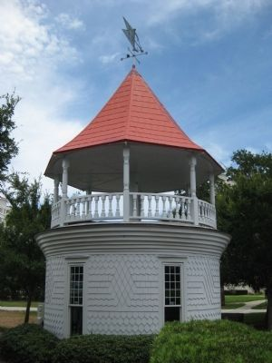 Ormond Hotel Cupola image. Click for full size.