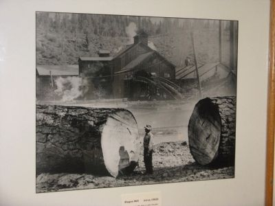 Blagen Mill, (circa 1960) image. Click for full size.