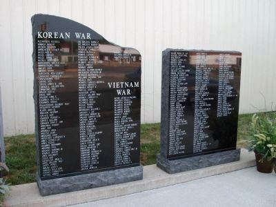 Korea & Vietnam - - Panels #'s 6 and 7 Photo, Click for full size