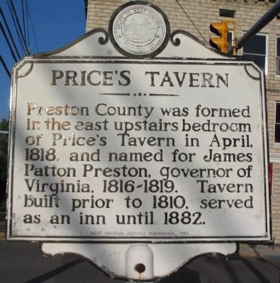 Price's Tavern Marker image. Click for full size.