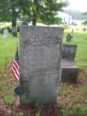 A Headstone in the Riceville Cemetery image. Click for full size.