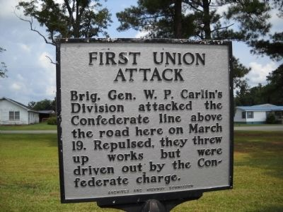 First Union Attack Marker image. Click for full size.