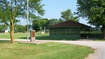 Helm American Legion Post 182 Veterans Memorial image. Click for full size.