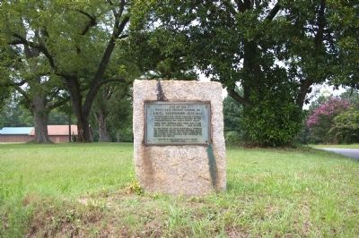 Site of the Home and Private School of Adiel Sherwood Marker image. Click for full size.