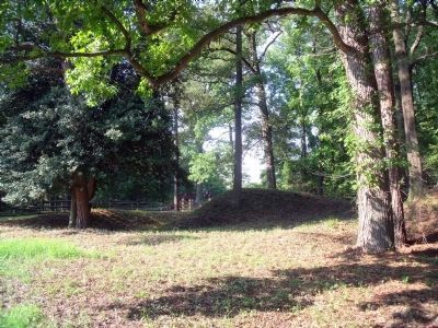 Chickahominy Bluff Earthworks image. Click for full size.