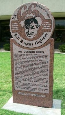 The Connor Hotel Marker image. Click for full size.