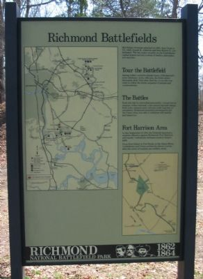 Richmond Battlefields Marker image. Click for full size.
