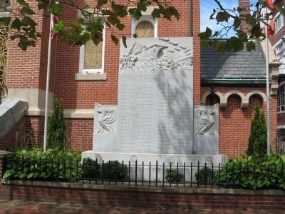 St. Stanislaus Servicemen Memorial image. Click for full size.